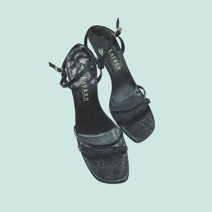 Ralph Lauren Alligator heels